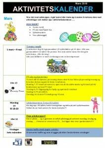 Aktivitetskalender Kjeller mars 2016-page0001